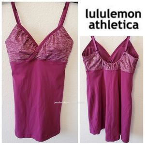 Excellent Lululemon Padded Bra Tank Top Size 6